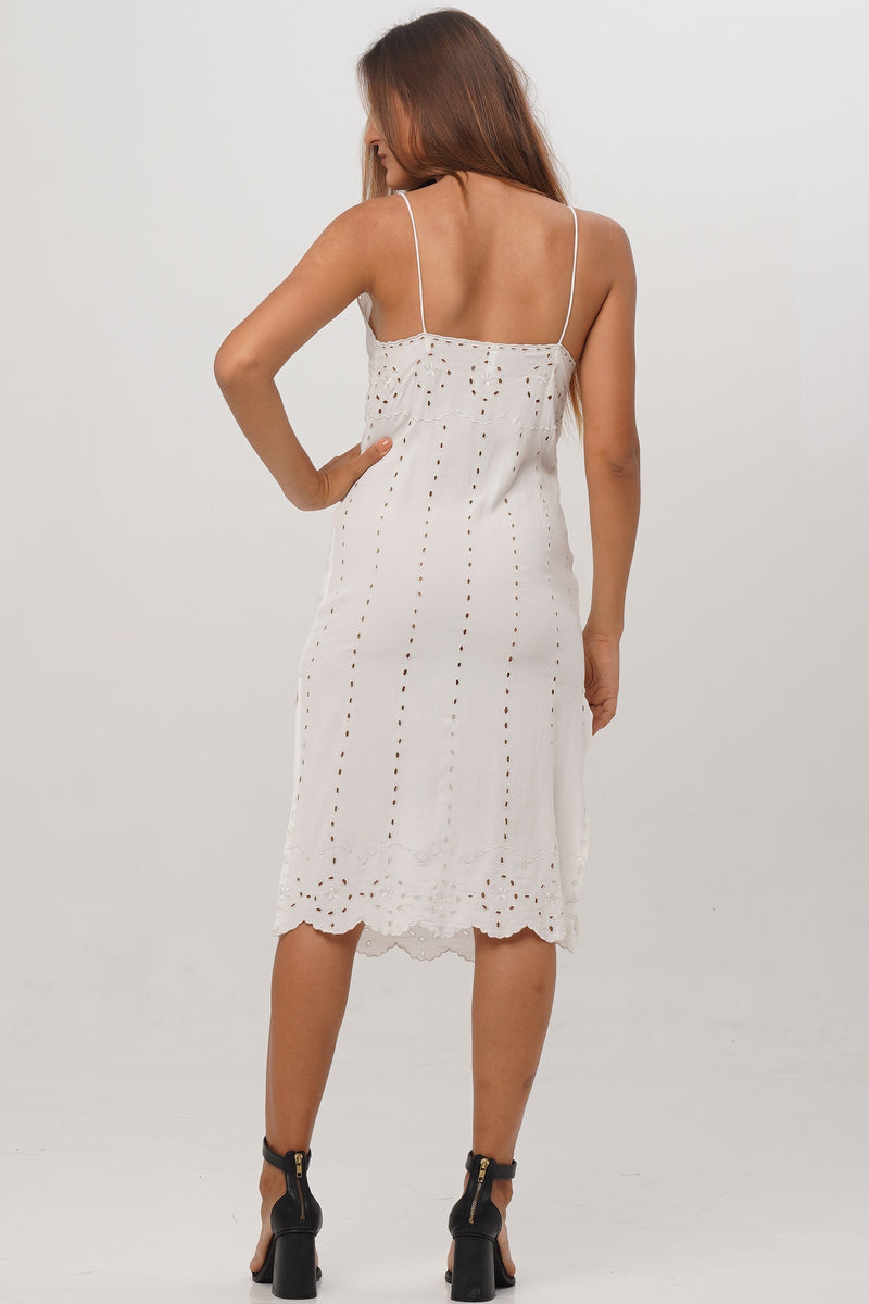Balian Embroidered Dress