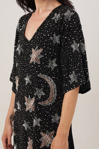 Galaxy Embellished Kaftan