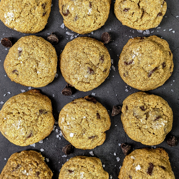 Bake-At-Home Salted Rye & Chocolate Chip Cookies