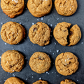 Bake-At-Home Rye & Peanut butter Chocolate Chip Cookies