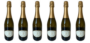 6 Bottles of 2017 Blanc de Blancs - Elegant Sparkling White Wine