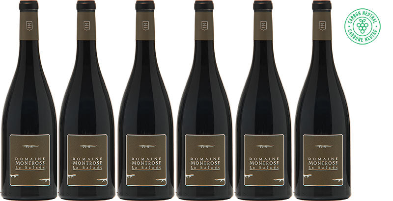 6 Bottles of 2016 Domaine Montrose La Balade Rouge