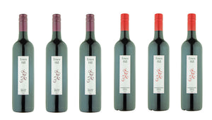 "6 Bottles of ""Drink Now"" Premium Red Wine - 3 x Shareholder Shiraz, 3 x Dam Merlot"