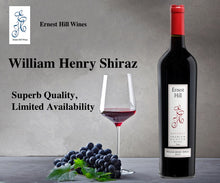 Load image into Gallery viewer, 2017 William Henry Shiraz - Glorious Red Wine