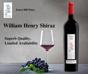 2017 William Henry Shiraz -95 Points- Glorious Red Wine
