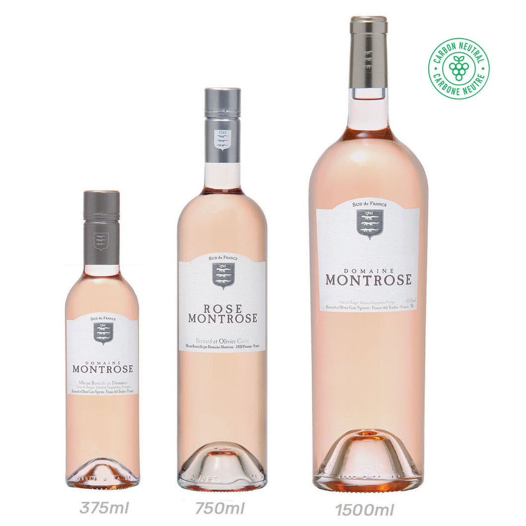 S-M-L of Montrose Rosé - 375ml, 750ml & 1500ml