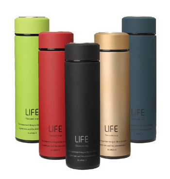 Insulated Stainless Steel Water Bottle for Workout Yoga Play