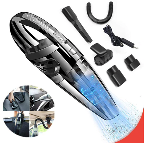 Hand Vacuum Cleaner Portable Rechargeable Wet & Dry Cordless