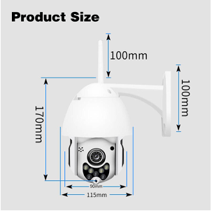 Outdoor WIFI IP Security Camera Intercom Night Vision SII