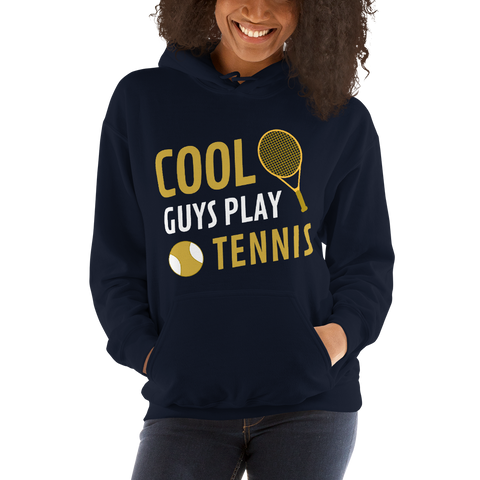 Унисекс Суичър Cool Guys Play Tennis