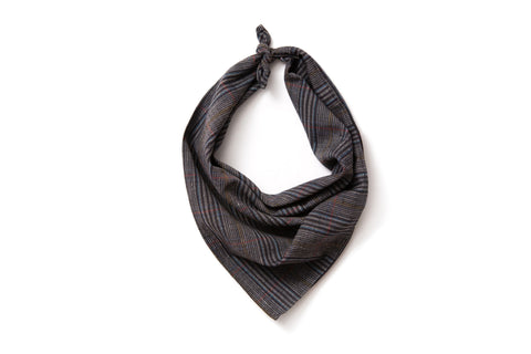 Neckerchief - Dark Indigo Plaid