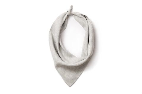 Neckerchief - Ash Linen