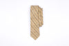 Mustard Sky Stripe Pointed Neck Tie