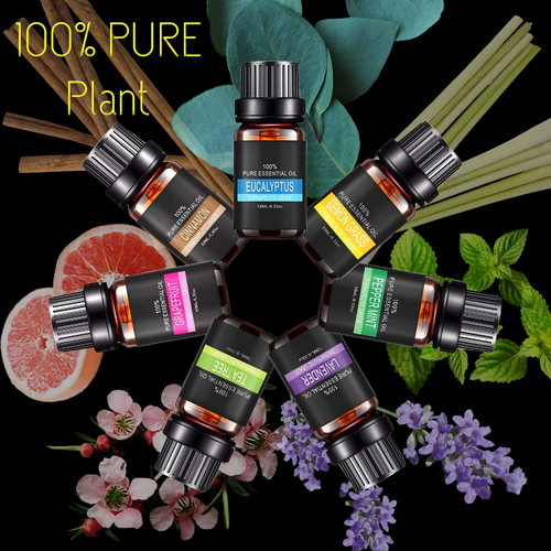 Pure Plant Essential Oils For Aroma Diffuser - Modern Best