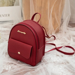PU Leather Backpack - Modern Best