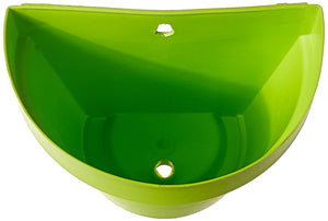 Wall Mount Planter Green - Set of 3 - 7 inches