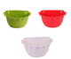 Wall Mount Planter - Set of 3 - Multi-color ( Green,Red,white)