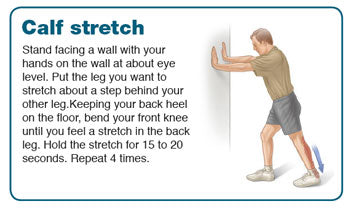 stretching exercises for achilles tendonitis