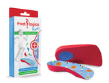 Footlogics Kids orthotics for young growing feet