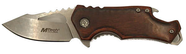 Personalized/Engraved - MTech USA Framelock knife