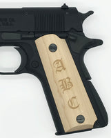 Browning 1911-22/380 grips - Personalized/Engraved