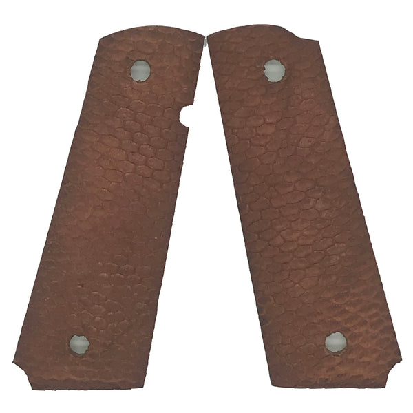 1911 Full size grips - Beaver Tail - Beveled Bottom