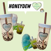 Valentine's Day Gift Set - Banana Leaf Tumblers