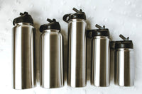 12oz Stainless Steel Flask - Banana Leaf Tumblers