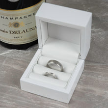 Load image into Gallery viewer, Personalised Wooden Love Heart Wedding Ring Keepsake Box