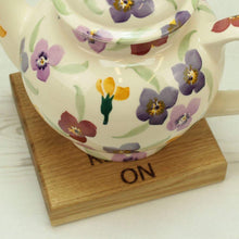 Load image into Gallery viewer, Solid Oak Keep Calm Teapot Stand