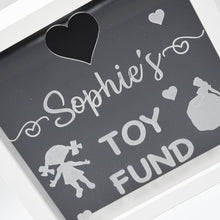 Load image into Gallery viewer, Personalised Toy Fund Money Box Frame