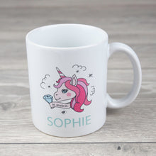 Load image into Gallery viewer, Personalised Unicorn Ceramic Mug