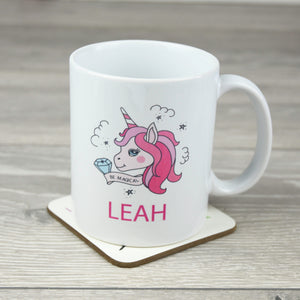Personalised Unicorn Ceramic Mug
