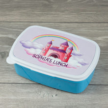 Load image into Gallery viewer, Child's Personalised Princess Castle Design Lunch Box