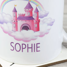 Load image into Gallery viewer, Personalised Princess Castle Ceramic Mug