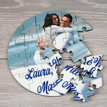 Load image into Gallery viewer, Personalised Wedding Proposal Photo Puzzle with Message