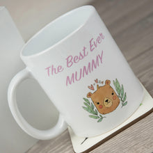 Load image into Gallery viewer, Personalised Best Ever Mummy Ceramic Mug