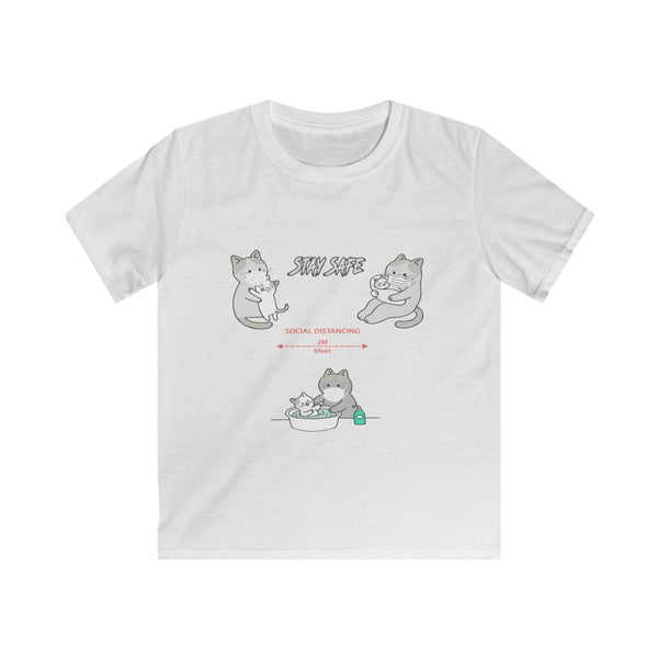 Stay Safe Kids Softstyle Tee-Shirt - Pets Tee Shirt Store