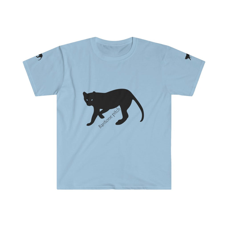 Baritone Men's Fitted Short Sleeve Tee-Shirt - Pets Tee Shirt Store
