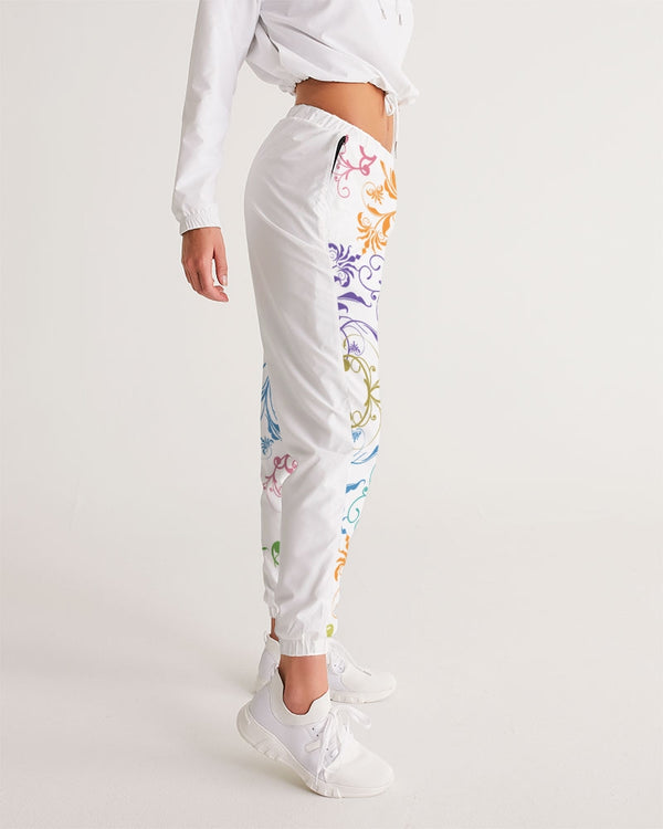 Abstract-floral Women's Track Pants - Pets Tee Shirt Store