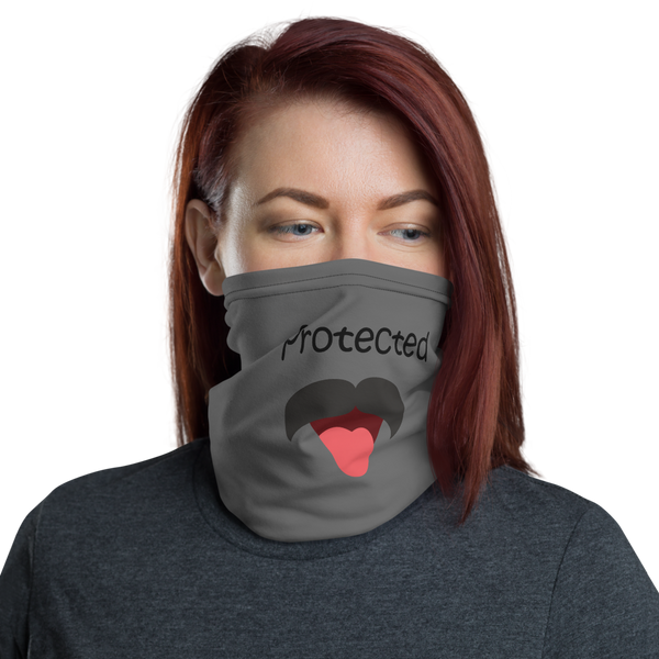 Funny Grey Neck Gaiter - Pets Tee Shirt Store