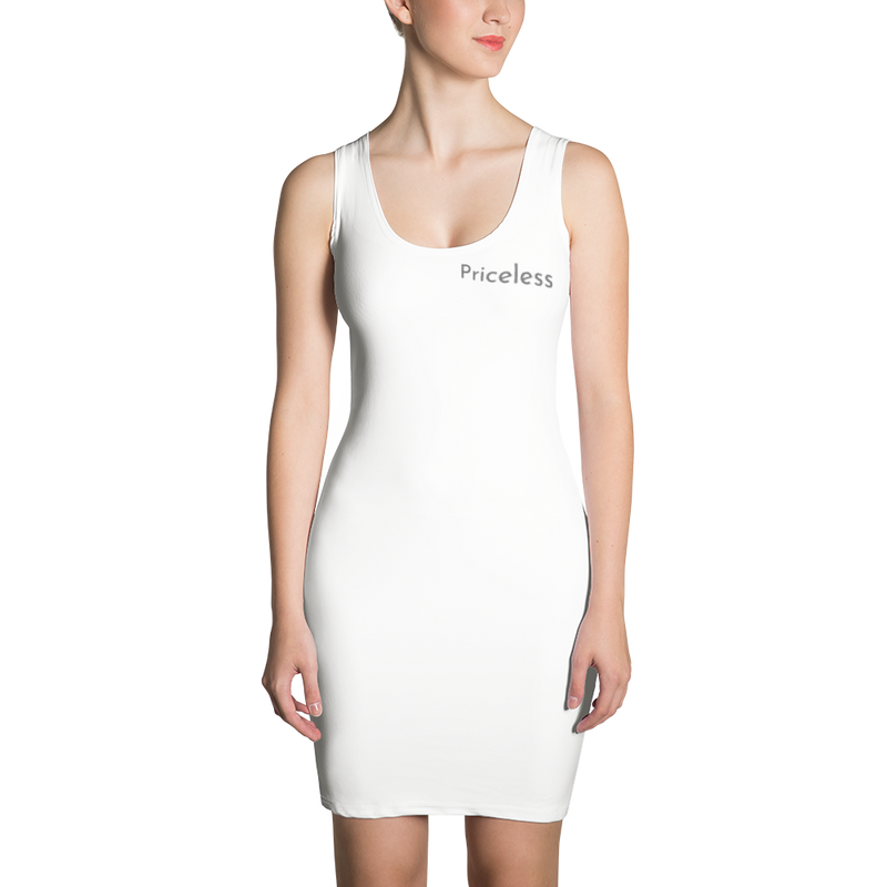 White Sexy Sublimation Cut & Sew Dress - Pets Tee Shirt Store