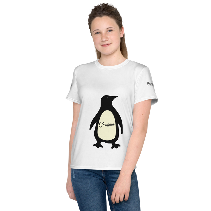 Penguin Youth Tee-Shirt - Pets Tee Shirt Store