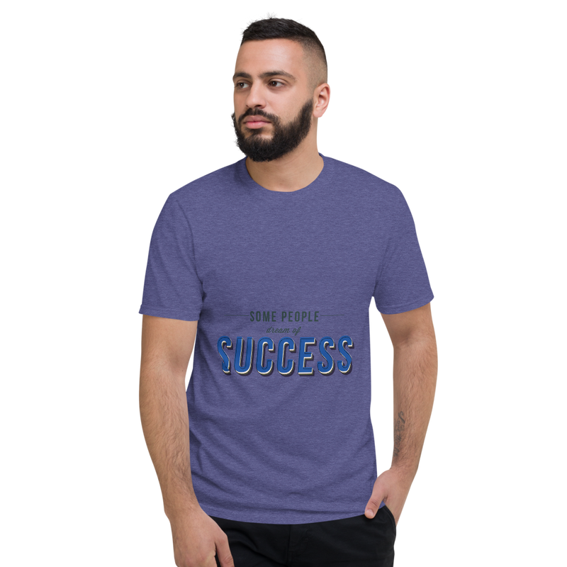 Success Short-Sleeve Tee-Shirt - Pets Tee Shirt Store
