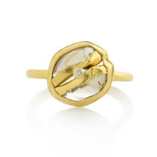 Load image into Gallery viewer, 22K Golden Joinery 2.18 ct Rough Diamond Ring