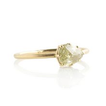 Load image into Gallery viewer, 1.07 ct Teardrop Rustic Diamond Ring
