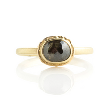 Load image into Gallery viewer, 1.50 ct Oval Rustic Diamond Ring