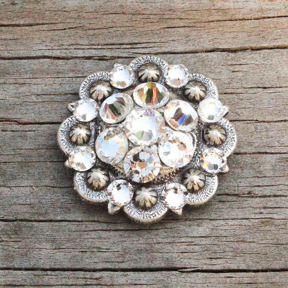 "Antique Silver-Small (1.25"") Conchos"