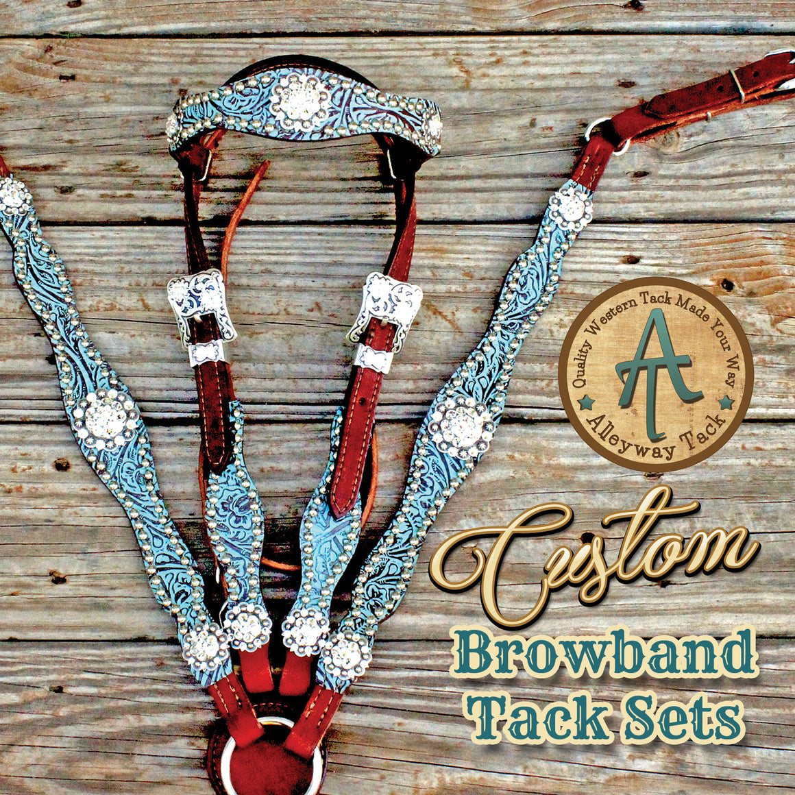 Custom BrowBand Tack Set