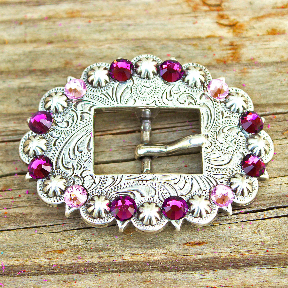 Antique Silver-Cart Buckles (Color Options)
